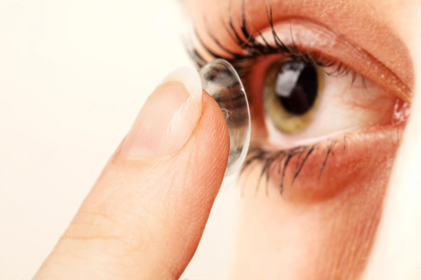 qui sont les lentilles de contact perméables aux gaz