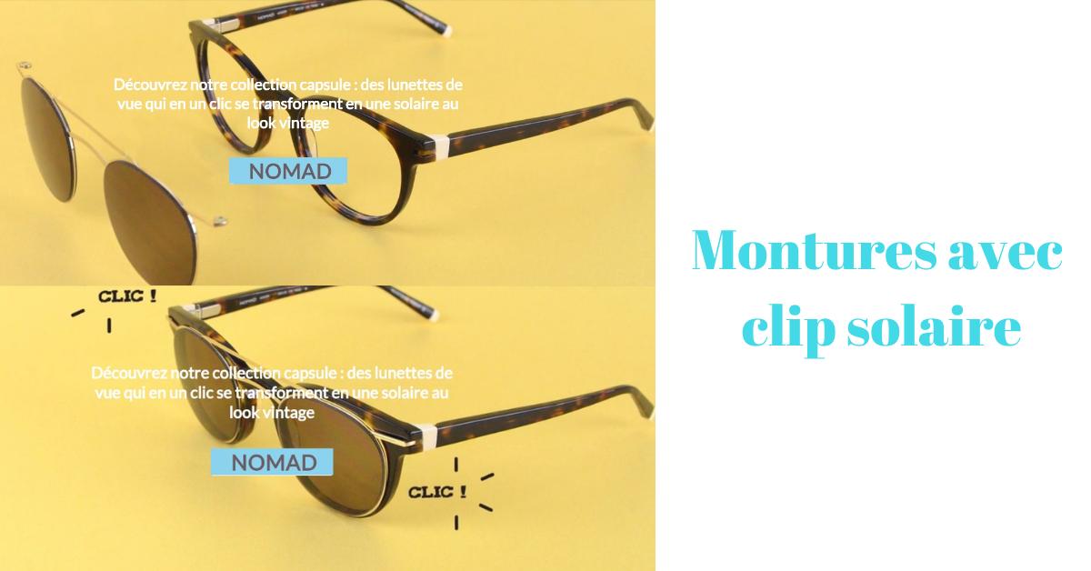 Read more about the article Montures avec Clip solaire